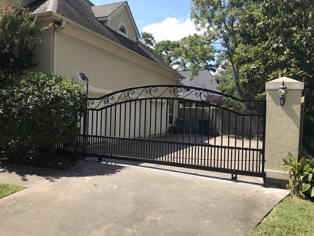 Slide Driveway Gate