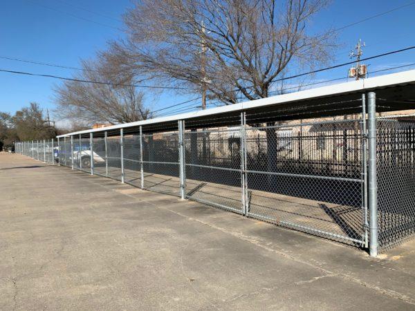 Chain Link Enclosure