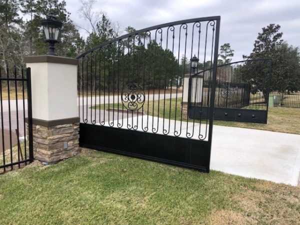 Commercial Iron Swing Gate